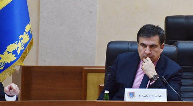 Саакашвили может лишится