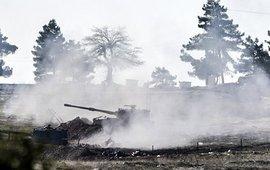 Турки продолжают обстрел