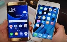 Galaxy S7 и iPhone 6s эксперимент