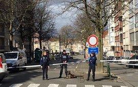 Полицейская операция в Брюсселе