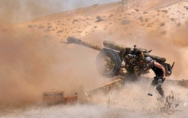 Сирийская армия ведет наступление