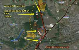 Обзор боев в Ясиноватой