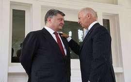 Байден и Порошенко обсудили