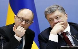 Яценюк опять призвал Порошенко