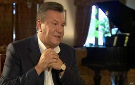 Реакция Януковича