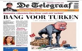 Голландцы ответили карикатурой