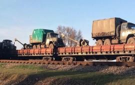 Хмурые тучи на границе с Крымом