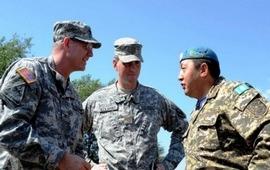 Военные инструкторы США в Казахстане