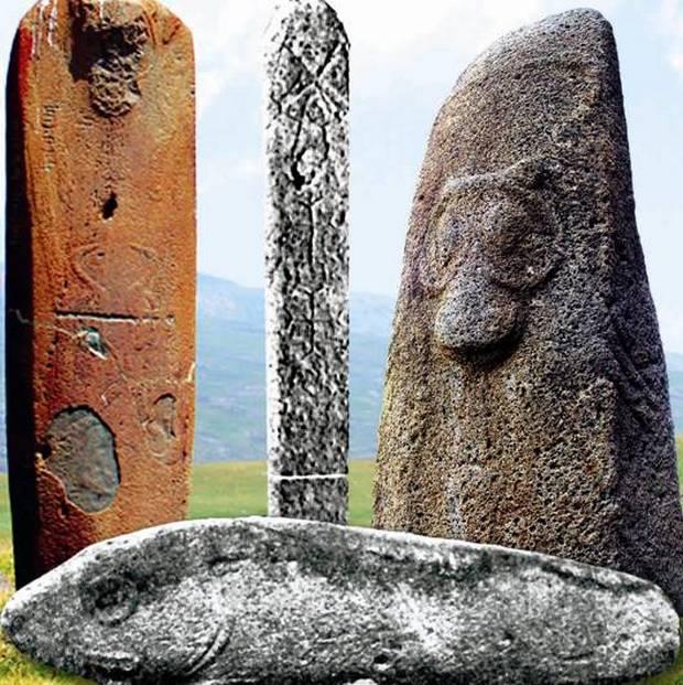 Вишапы - мифологические камни7