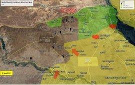 Протурецкие исламисты ведут бои с курдами