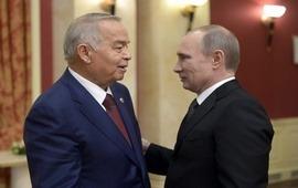 Путин поздравил Каримова
