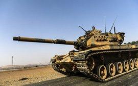 После ударов турецкой армии по населенным пунктам