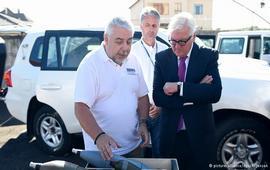 Главы МИД Германии и Франции посетили Донбасс