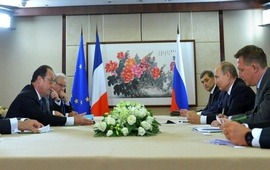 20 minutes: Россия и Франция найти политическое решение