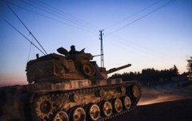 Турки с сирийскими повстанцами