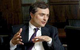 Сурков встретился с представителем ОБСЕ