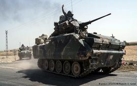 Турецкие танки вошли в северные районы