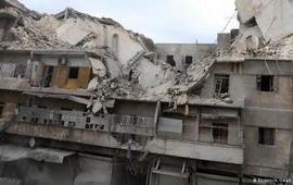Массированные авиаудары по Алеппо