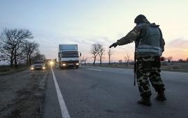 Меджлисовцы заблокировали границу Крыма
