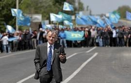 Марш посвященный годовщине блокады Крыма