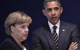 Меркель - Обама: Авианалеты на Алеппо