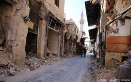 Гуманитарная колонна ООН в Сирии