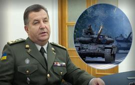 Полторак: У русских в Донбассе танков больше