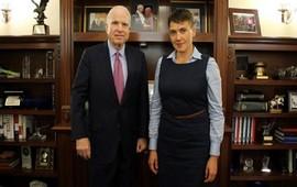 """Маккейн: Савченко - """"икона свободы"""