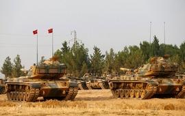Эрлоган: турецкие войска продолжают продвижение