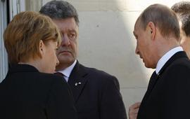 В Берлине проходят переговоры Ангелы Меркель, Франсуа Олланда, Петра Порошенко и Владимира Путина.