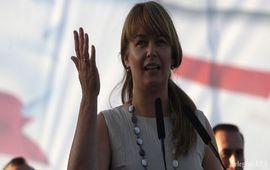 Жена Саакашвили ушла со второго тура