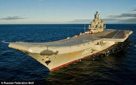 Королевские ВМФ готовы к встрече «Адмирала Кузнецова»