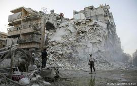 Возобновление авиаударов по Алеппо
