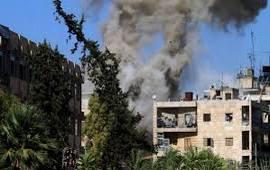 Артобстрелы и бомбардировки в Алеппо