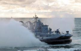 Размещение российских кораблей в Балтийском море