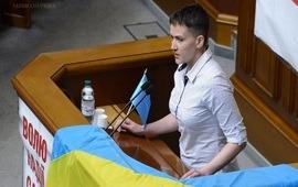 Савченко призвала сохранять санкции