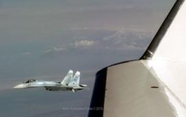 Опасное сближение с российским самолетом