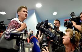Савченко приехала в Москву наблюдать за процессом