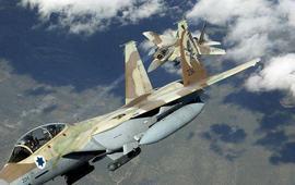 Израильские ВВС нанесли удар по сирийским позициям