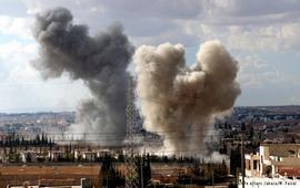 Бомбардировки в Алеппо