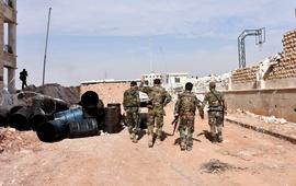 Сирийская армия вошла