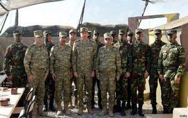 Алиев в желтых ботинках у линии фронта