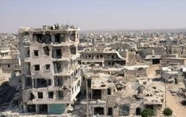 ИГ подвергли жилой квартал Алеппо