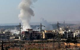 Алеппо вновь подвергся бомбардировкам