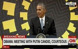 Обама поведал об «откровенной и вежливой» беседе