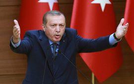 Эрдоган разбушевался