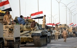 Иракские военные взяли штурмом район Аль-Интисар
