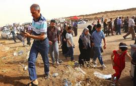 Беженцы в лагерях иракского Курдистана