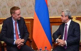 Cотрудничество Армении и США по обороне