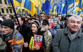 Саакашвили требует отставки Рады